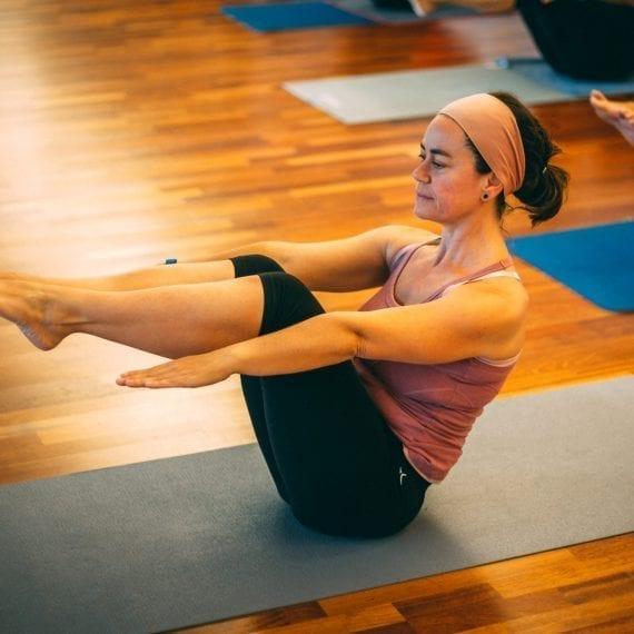 Clase de Pilates aqua