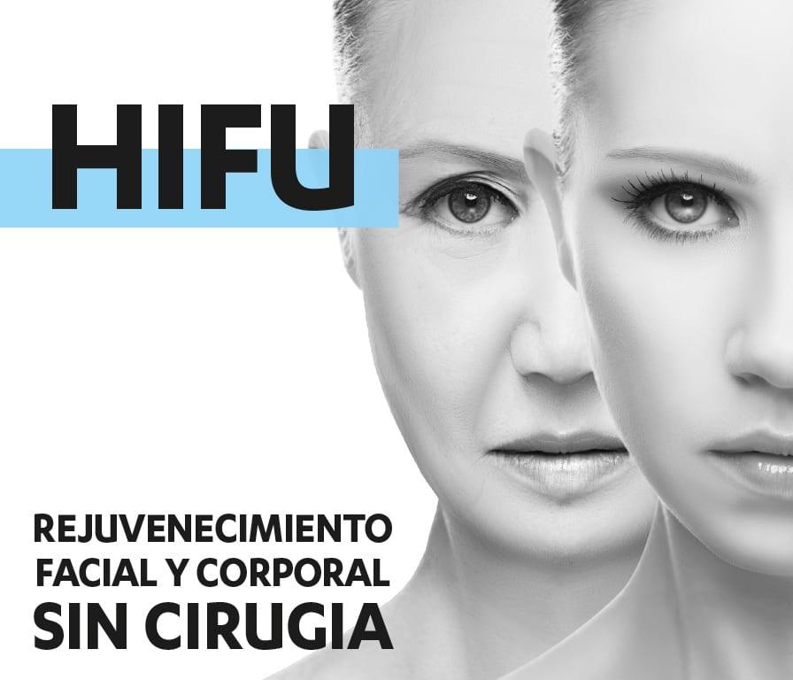 HIFU Rejuvenecimiento facial y corporal sin cirugía